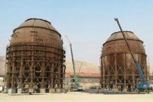 طراحی، ساخت و نصب بزرگترین مخازن کروی خاورمیانه در ماشین سازی اراک
