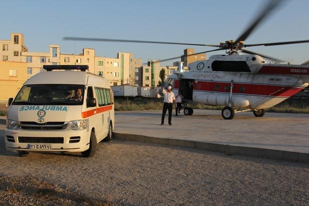 امدادرسانی به 6 کوهنورد حادثه دیده در واژگونی لندرور