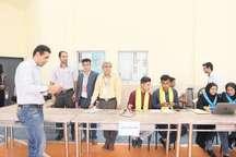 مسابقه شهر ریاضی در دانشگاه جیرفت برگزار شد