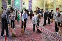 غبارروبی 103 مسجد در گناباد