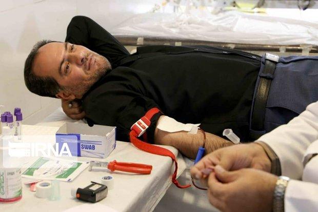 مراجعه ۱۵۷۰ داوطلب در دهه اول محرم به مراکز اهدای خون در کردستان