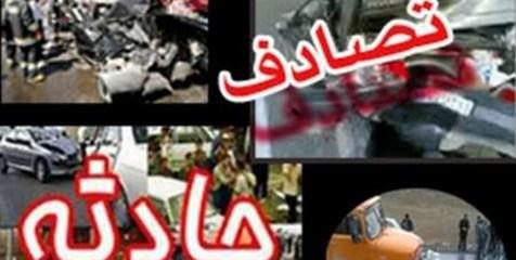 اتوبوس زائران ایرانی در عراق تصادف کرد