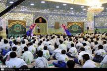 جشن روزه اولی ها در حرم مطهر حضرت معصومه(س) برگزار شد