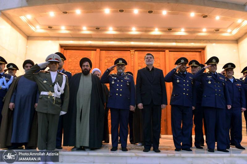 تجدید میثاق فرمانده نیروی هوایی ارتش با آرمان های حضرت امام خمینی(س)