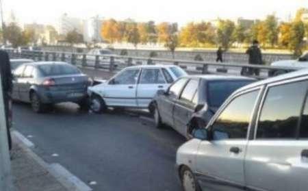 تصادف در جاده کندوان  هفت مصدوم بر جای گذاشت