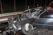 حادثه رانندگی در صحنه چهار کشته بر جا گذاشت