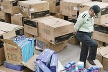 بیش از یک میلیارد ریال کالای قاچاق در اسلام آبادغرب کشف شد