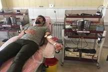 اهدای مستمر خون در همدان بالاتر از میانگین کشوری است