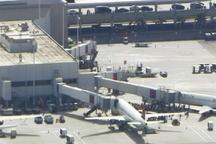 لحظاتی پس از تیرانداری در فرودگاه