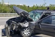 تصادف در جاده زرین شهر10 مصدوم داشت
