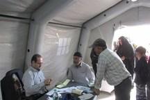 سه هزار زائر از خدمات درمانی سپاه در مهران بهره مند شده اند