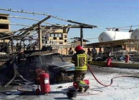 آتش سوزی کارگاه شارژ سیلندر گاز در شهریار مهار شد