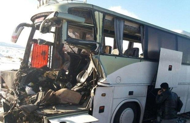عامل تصادف اتوبوس راهیان نور در تبریز مشخص شد
