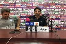 سرمربی تیم استقلال خوزستان:بهتر از نساجی بودیم ،حقمان برد بود