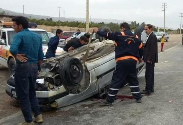 حوادث رانندگی در شیراز و فسا 2 کشته و 11 مصدوم داشت