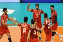 مشخص شدن حریفان ایران در دور دوم والیبال قهرمانی جهان 2018