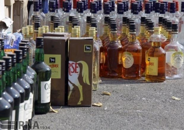 18هزار لیتر مشروبات الکلی در آذربایجانشرقی کشف شد