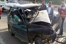 8 کشته و مجروح در تصادف محور بوکان- سقز