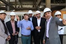 وعده تکمیل 27 ماهه برجهای دو قلو خرم آباد   پیشرفت 32 درصدی پروژه