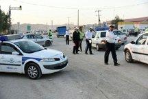 تیم های پلیس راه استان های معین در ایلام مستقر می شوند