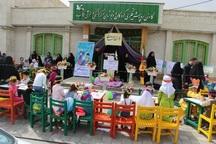 ایستگاه نقاشی کودکان در تکاب برپا شد