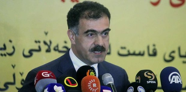 پاسخ دولت اقلیم کردستان به درخواست سرلشگر باقری در مورد احزاب معارض