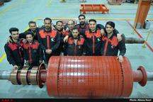 واحد تولیدی پوشش عایق ضدحریق در آبیک افتتاح شد