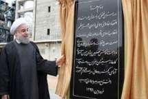 افتتاح واحدهای صنعتی تولید چوب در رشت با حضور رئیس جمهوری