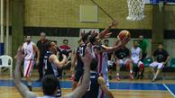تیم بسکتبال نبوغ اراک در مقابل حریف قزوینی پیروز میدان شد