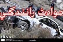 برخورد 2 خودرو در جاده تایباد - خواف یک کشته داشت
