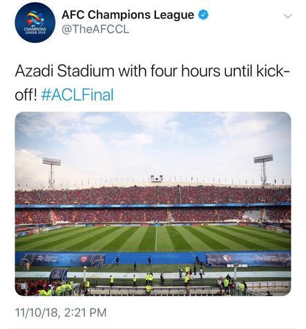 واکنش AFC به حضور پرشور هواداران پرسپولیس در آزادی+ عکس