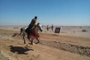 افراد برتر هنرهای رزمی سواره کشور در یزد مشخص شدند