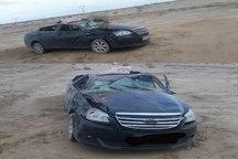 واژگونی خودرو در جاده سبزوار - شاهرود سه مصدوم برجای گذاشت