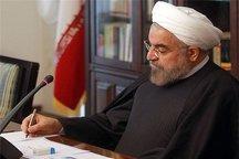 رئیسجمهوری انتصاب آیتالله هاشمی شاهرودی به ریاست مجمع تشخیص مصلحت نظام را تبریک گفت