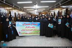 حال و هوای جماران در روزهای بهمن 95