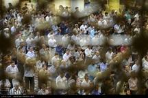 نماز عید سعید قربان در سومین حرم اهل بیت (ع) اقامه شد