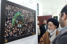 نمایشگاه عکس سوگواره مهر محرم در سمنان افتتاح شد