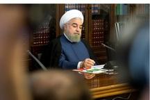 پیام تبریک رئیس جمهور روحانی به فواد معصوم رئیس جمهور عراق