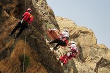 کوهنورد گرفتار در ارتفاعات نیشابور نجات یافت