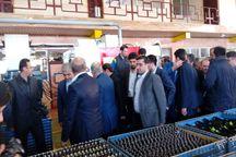 افتتاح طرح توسعه واحد قطعهسازی امیرنیا توسط وزیر صنعت