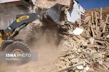 آغاز آوار بردای واحدهای مسکونی تخریب شده در مناطق زلزله زدهی روستای ایوق