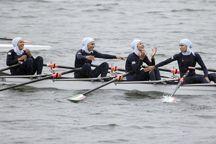 بانوان قایقران همدان به مدال برنز آسیا رسیدند