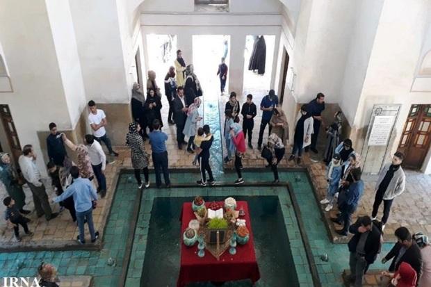 370 هزار گردشگر نوروزی از اثرهای تاریخی کاشان دیدن کردند