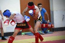 مسابقات قهرمانی کیک بوکسینگ بزرگسالان استان مرکزی در اراک برگزار شد