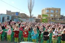 13 هزار دانش آموز تکابی در جشن نیکوکاری شرکت کردند