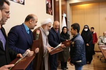 مراسم تجلیل از کودکان حافظ قرآن کریم در قزوین برگزار شد