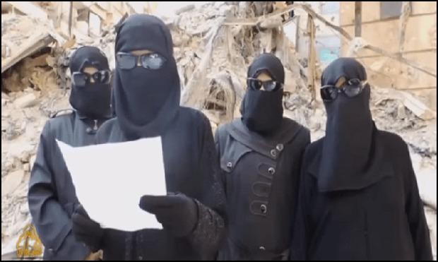 دلیل جذابیت داعش برای دختران اروپایی + تصاویر