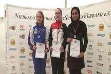 تیراندازی بوشهری در مسابقات هانوفر آلمان به مدال برنز رسید