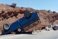 واژگونی خودروی نیسان در بجنورد 17 کشته و زخمی داشت