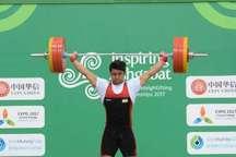 وزنه بردار آبادانی نایب قهرمانی آسیا شد